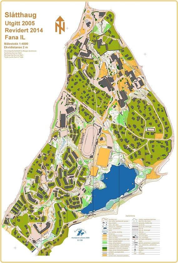kart over fana Gruppens kart / anlegg   Fana IL kart over fana