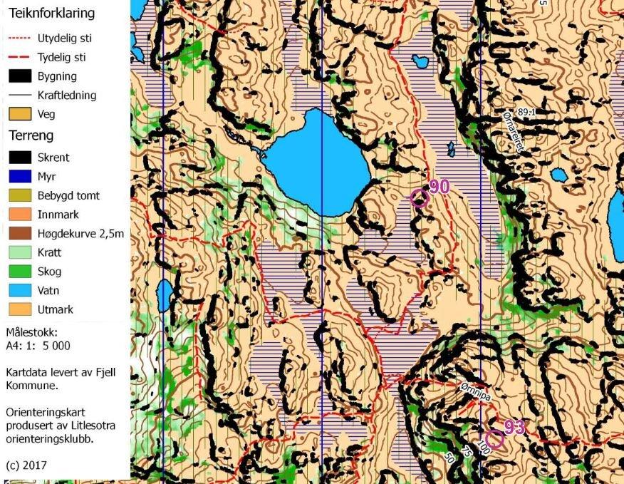 kart terreng Bruker autogenerert kart til tur o i jomfruelig terreng   Nyheter  kart terreng